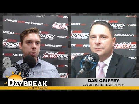 35th District Rep. Dan Griffey on Daybreak - 01/22/18