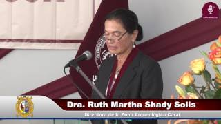 Tema: DISTINCIÓN DOCTOR HONORIS CAUSA A RUTH SHADY