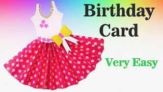 Frock Birthday Card Ideas easy
