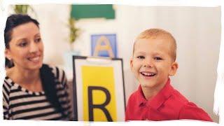 Как научить говорить ребенка букву Р