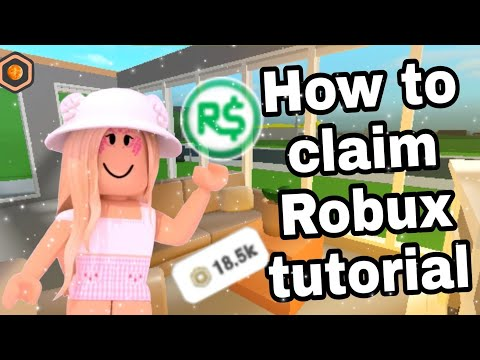 How To Claim Your Robux On Roblox Group Funds (roblox Group)