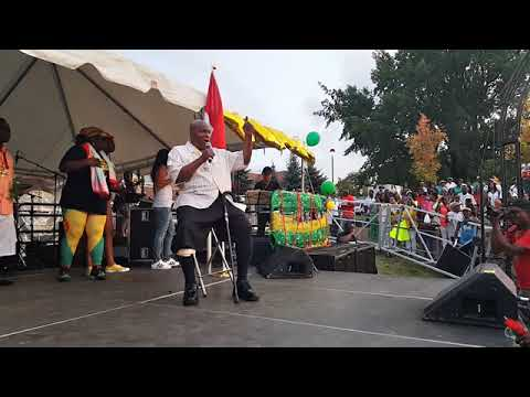 10th Anniversary Grenada Day Toronto - Mighty Sparrow Interview & Performance