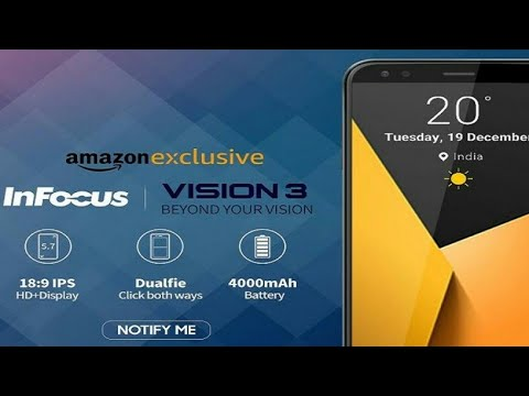 6fcd929d0 InFocus Vision 3 first impressions  A full-screen phone with dual-rear  camera at Rs 6