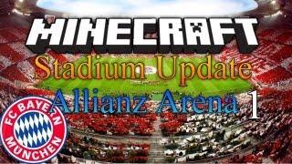 ITStheMARKEY Stadiums - Minecraft Megabuild - FC Bayern Munich
