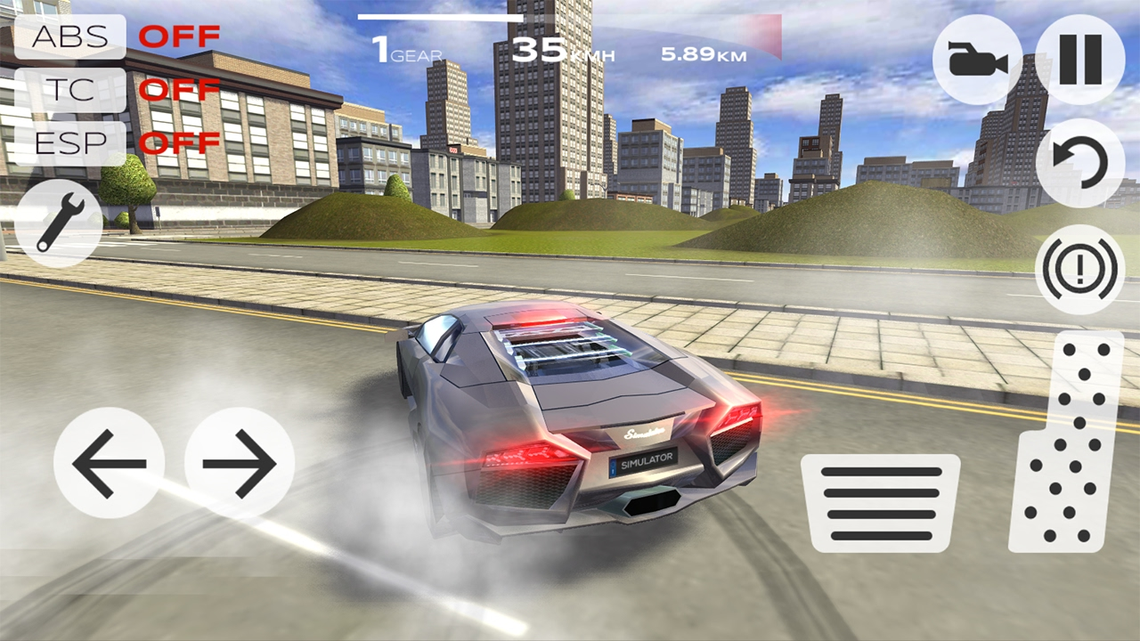 Lovely Extrime Car Driving Simulator 3D Lamborghini Aventador   Android Gameplay    YouTube