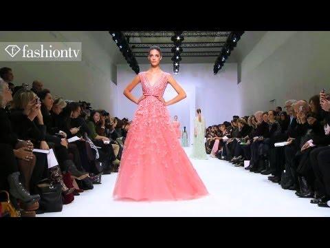 Elie Saab Spring 2012 Show at Paris Couture Fashion Week ft Toni Garrn & Anja Rubik | FashionTV FTV