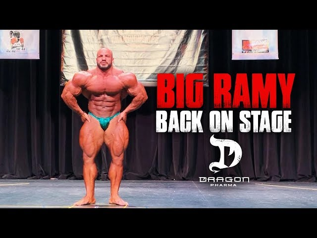 BIG RAMY BACK ON STAGE 2019 | Guest Posing