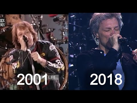 Bon Jovi - It's My Life Through The Years (2000-2018)
