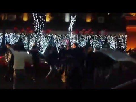 Новый год в Ереване ,наш концерт (Նոր տարի Երևան) 1