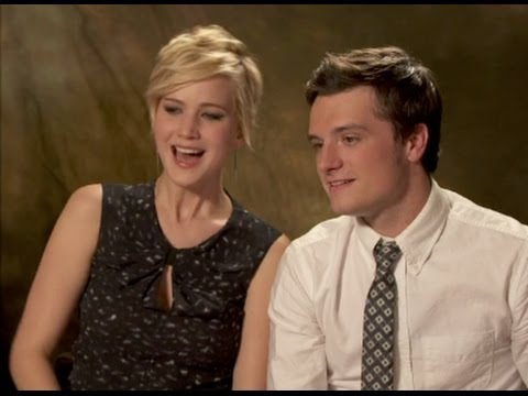 Catching Fire Cast Hilarious Interview Youtube