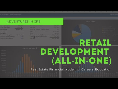 All-in-One Model Walkthrough #3 - Modeling a Retail Development from Start to Finish