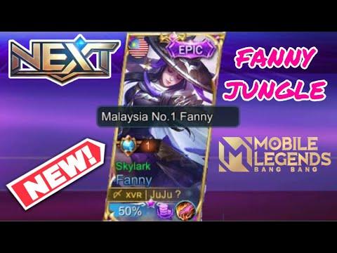 Fanny JUNGLE New ROTATION!! Goodbye Fanny ? 🥺 | MLBB