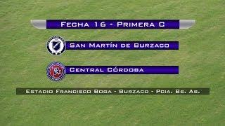 San Martín Burzaco vs Central Cordoba de Rosario full match