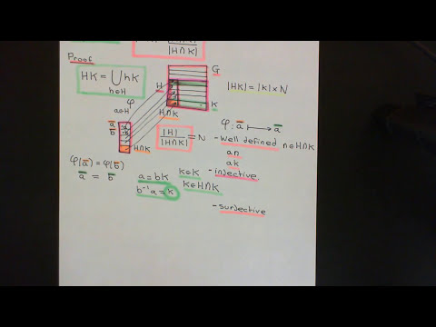 The Product of Two Subgroups Part 1