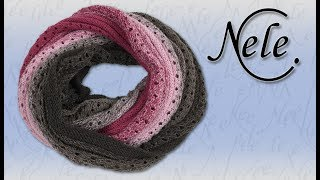Möbius Loop Schal stricken, Möbius Muster