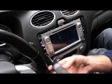 Android Multimedia GPS System Unbox and install into a Ford Focus MK2 2 II