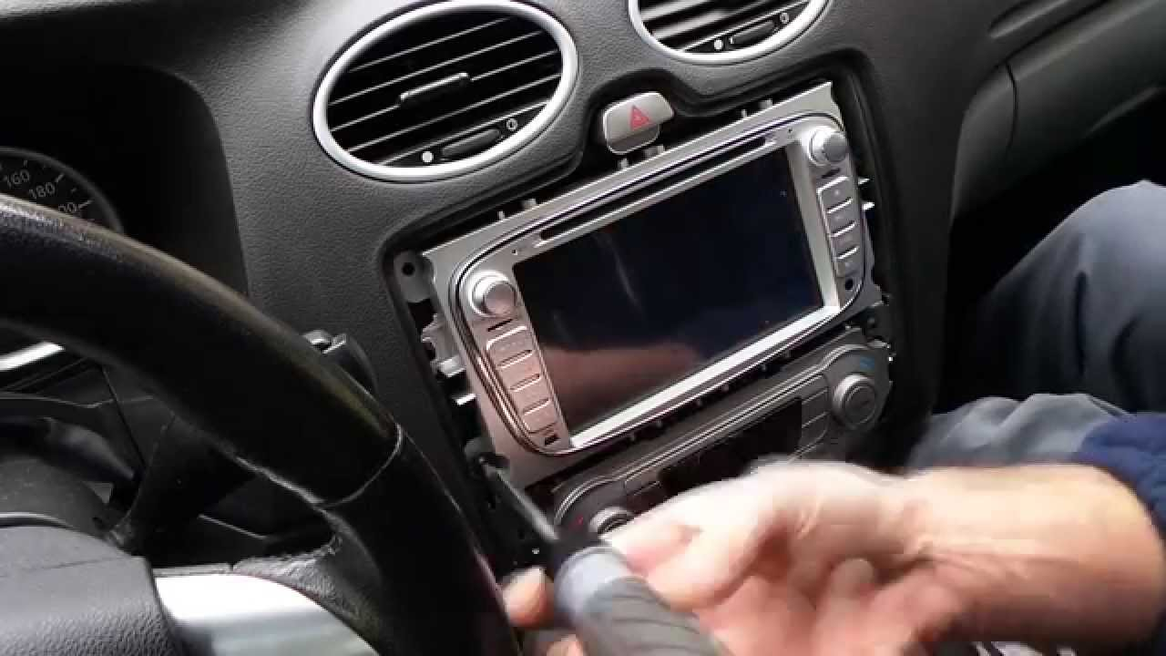Android Multimedia Gps System Unbox And Install Into A Ford Focus 2007 Fusion Radio Display Youtube Premium