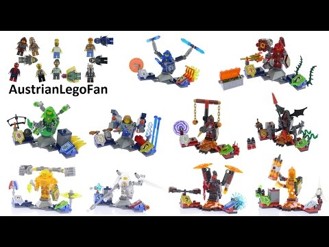 All Lego Nexo Knights Ultimates ever made - Lego Speed Build Review