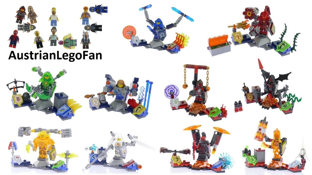 All Lego Nexo Knights Ultimates Ever Made Lego Speed Build Review