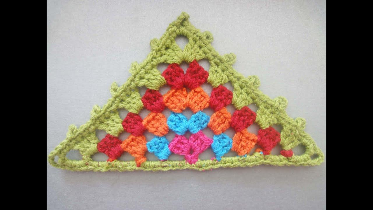 цветные бабушкины квадраты крючком схема