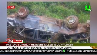 Pastor, 3 church members killed in gory crash