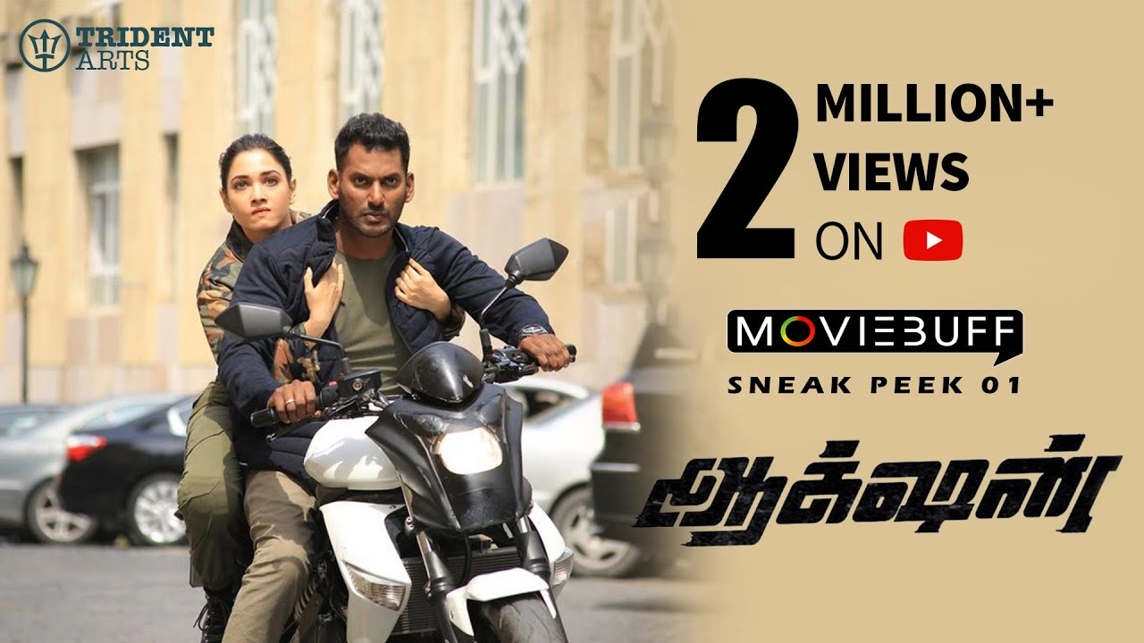 Action - Moviebuff Sneak Peek 01 | Vishal, Tamannaah | Sundar C