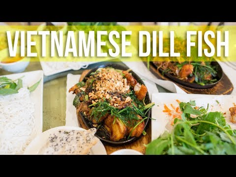 Dill Fish Spring Rolls | Vietnamese & French Fusion Food