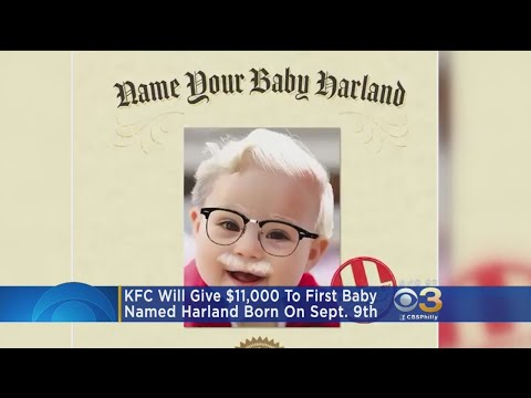 Skip Kelly - Name Your Sept. 9th Baby Harland and it Could be Worth $11,000 !