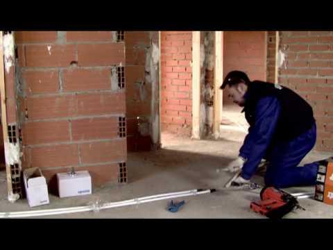Daunis s a instalacion de una calefacci n con uponor - Calefaccion de lena con radiadores ...