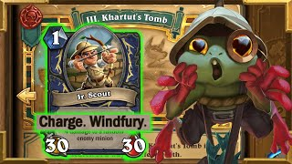Hearthstone:[HEROIC] Jr. Scout Is Broken   Plague of Death: Chapter 3 Tombs of Terror   Sir Finley