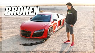 Destroying my Audi R8. [Ultra Roadtrip Ep.6]