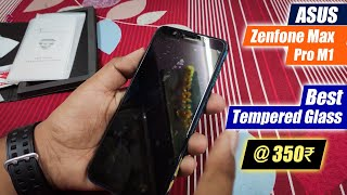 Asus zenfone max pro m1 best tempered glass || Glazedinc tempered glass for Asus zenfone max pro m1