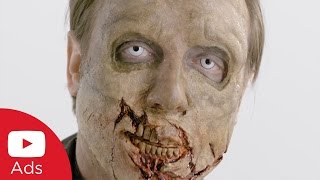 YouTube Ads EXPLAINED While Being Transformed Into a Zombie | YouTube Advertisers thumbnail