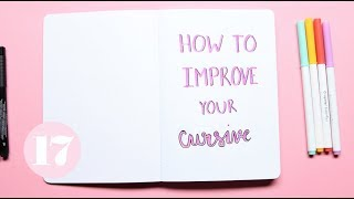 How To Improve Your Cursive | Plan With Me