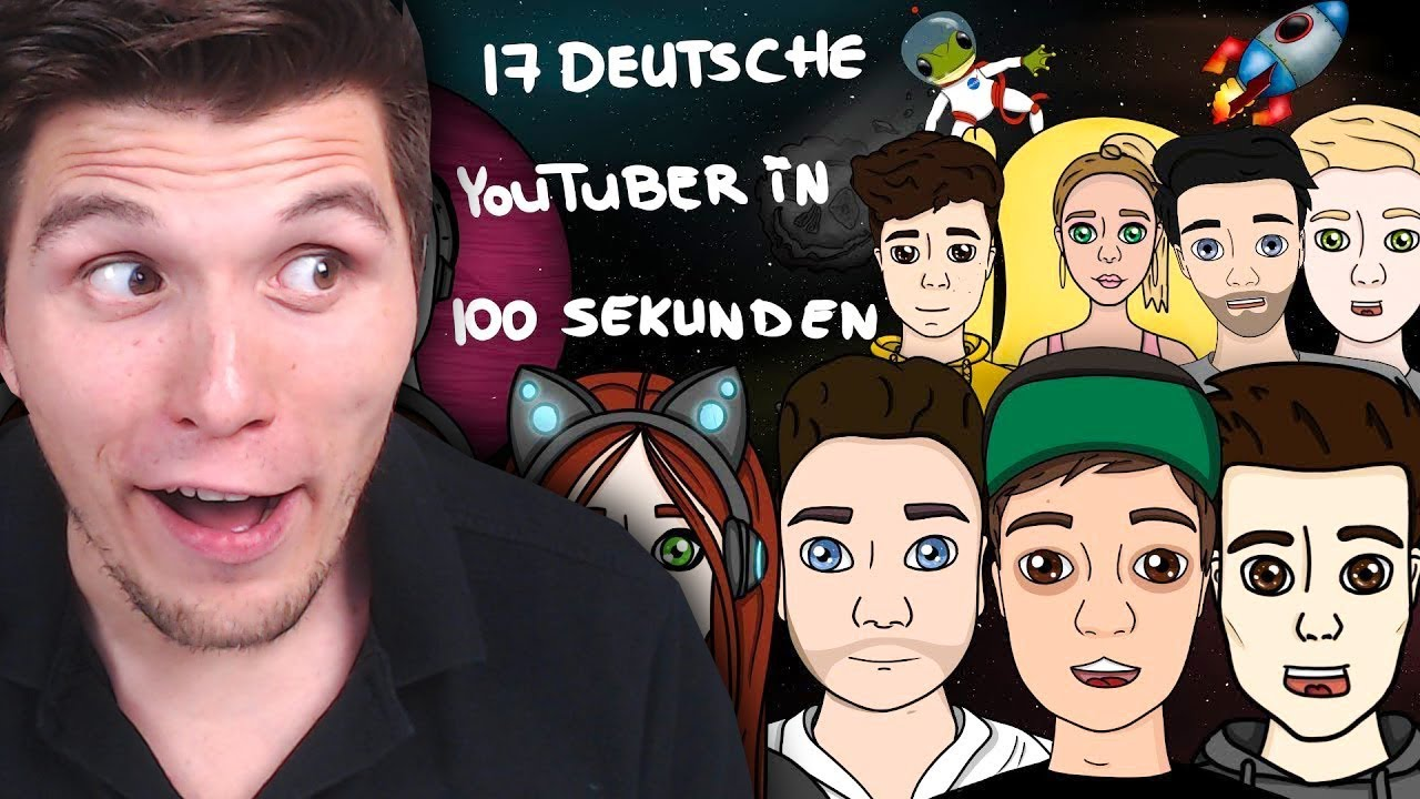 Youtuber Quiz Deutsch