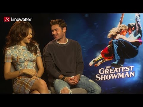 Interview Zendaya, Zac Efron THE GREATEST SHOWMAN