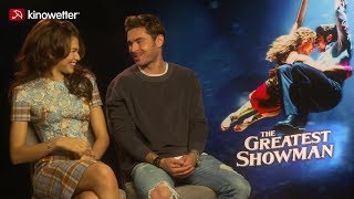 Interview Zendaya, Zac Efron THE GREATEST SHOWMAN