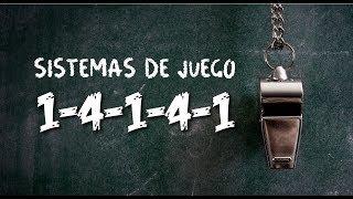 SISTEMAS DE JUEGO: 1-4-1-4-1 | VENTAJAS Y DESVENTAJAS