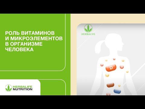 Витамины и микроэлементы, норма потребления - видео