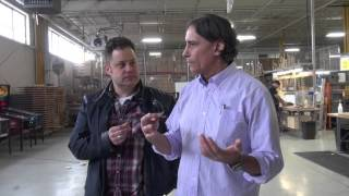 All Access New Stern Pinball Factory Tour 2016 with George Gomez - Game of Thrones AMAZING!
