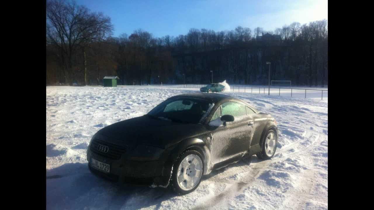 Audi Tt Quattro Snow Drifts Youtube
