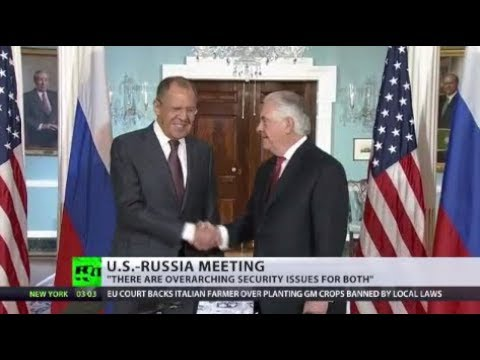 Top Talks: Russian FM & US secretary of state meet for 1st time since diplomatic spat