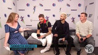 'Venom' Star Tom Hardy and Riz ahmed and ruben fleischer interview