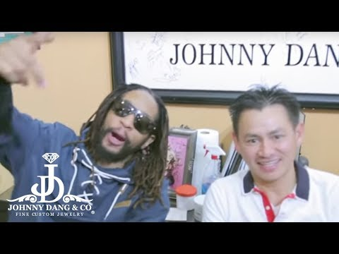 Johnny Dang does lil Jon New grill!!