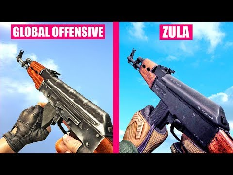 Counter-Strike Global Offensive Gun Sounds vs ZULA