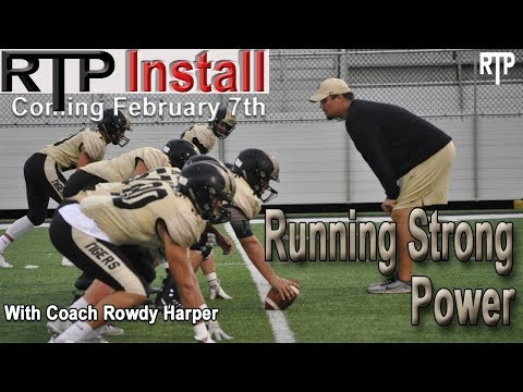Run & Install Strong Power - Rowdy Harper RTP Clinic