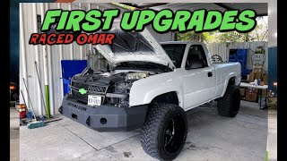 MUD TOYS UPGRADES AND RACED OMARS TURBO TRUCK