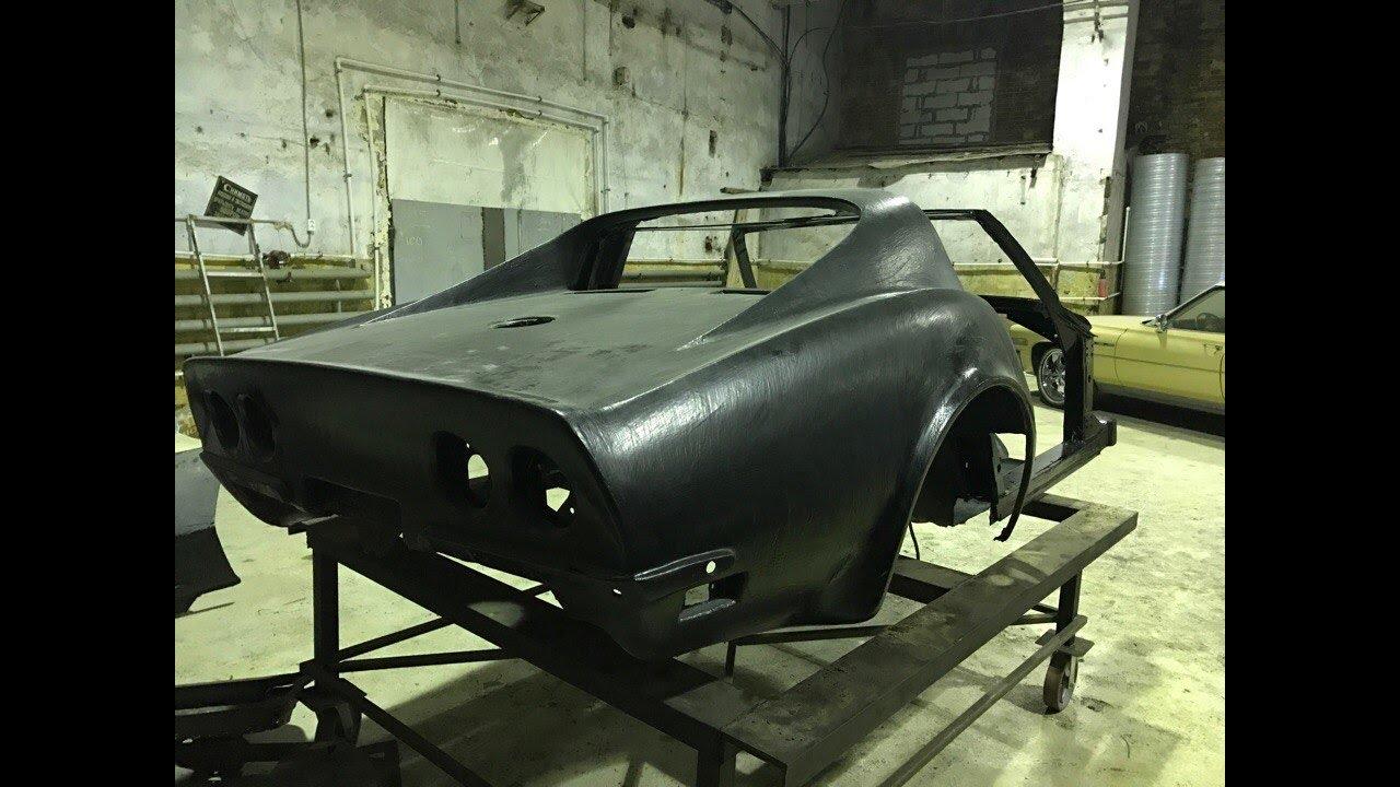 1974 Corvette Stingray C3 (Full Restoration, Part 1). Полное Восстановление Из Пепла. часть 1.