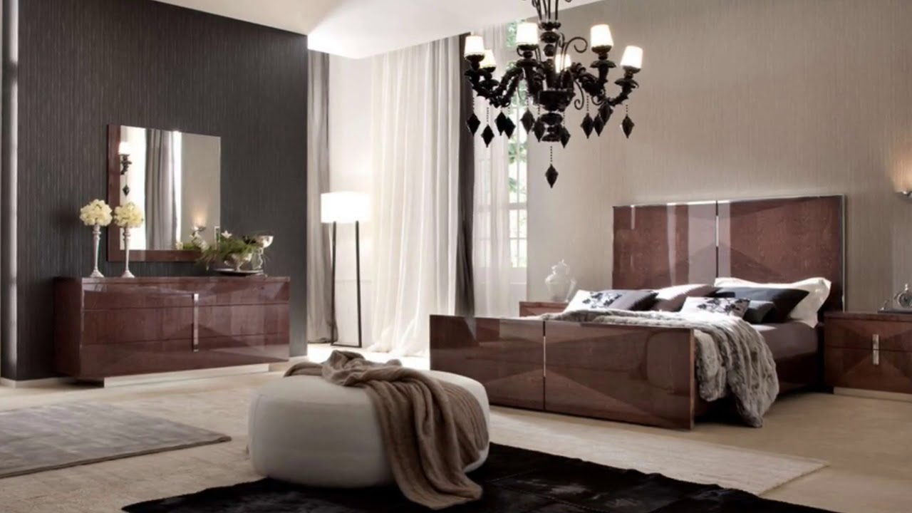 Modern Italian Bedroom Furniture Design Ideas