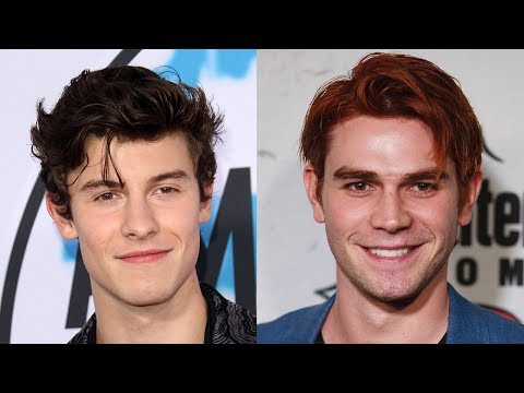 Shawn Mendes TEASES Secret Collab With Riverdale's KJ Apa